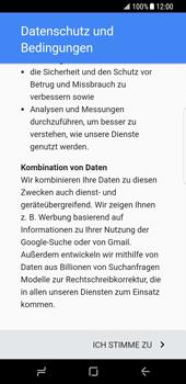 Samsung Galaxy S8 - Apps - Konto anlegen und einrichten - 15 / 19