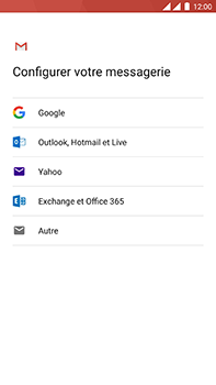 OnePlus 3 - Android Oreo - E-mail - Configuration manuelle (outlook) - Étape 7
