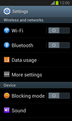 Samsung S7390 Galaxy Trend Lite - Network - Manually select a network - Step 4