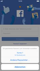 Apple iPhone 7 - iOS 11 - Automatisches Ausfüllen der Anmeldedaten - 6 / 8