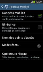 Samsung Galaxy Ace III - Internet et roaming de données - Configuration manuelle - Étape 7
