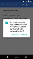 Sony Xperia X - E-Mail - E-Mail versenden - 11 / 18