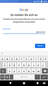 Sony Xperia XZ2 Premium - Apps - Konto anlegen und einrichten - Schritt 11