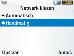 Samsung S3350 Chat 335 - netwerk en bereik - gebruik in binnen- en buitenland - stap 6