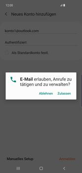 Samsung Galaxy S10 Plus - E-Mail - 032c. Email wizard - Outlook - Schritt 10