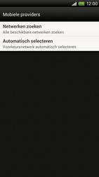 HTC S720e One X - Netwerk - Handmatig netwerk selecteren - Stap 9