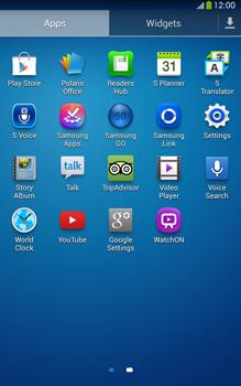 Samsung Galaxy Tab 3 8-0 LTE - WiFi - WiFi configuration - Step 3