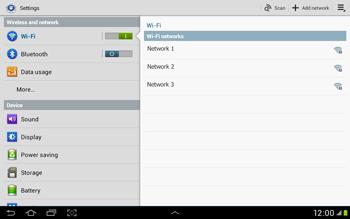 Samsung Galaxy Tab 2 10.1 - WiFi - WiFi configuration - Step 5