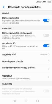 Huawei P Smart - Aller plus loin - Désactiver les données à l'étranger - Étape 7