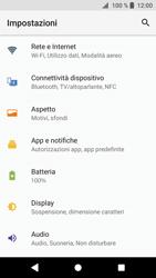 Sony Xperia XZ1 - Internet e roaming dati - Disattivazione del roaming dati - Fase 4