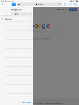 Apple iPad Mini 4 - ipados 13 - Internet und Datenroaming - Verwenden des Internets - Schritt 9