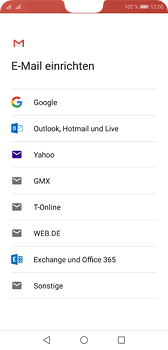Huawei P20 - E-Mail - Konto einrichten (gmail) - Schritt 7