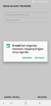 Samsung Galaxy A6 Plus - e-mail - handmatig instellen - stap 11