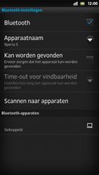 Sony LT26i Xperia S - Bluetooth - koppelen met ander apparaat - Stap 12