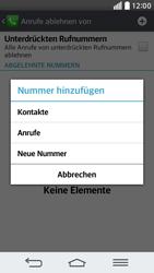 LG G2 mini - Anrufe - Anrufe blockieren - 8 / 12