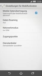 Sony Xperia Z2 - Netzwerk - Netzwerkeinstellungen ändern - Schritt 8
