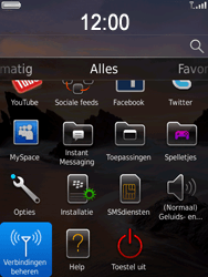 BlackBerry 9800 Torch - bluetooth - aanzetten - stap 3
