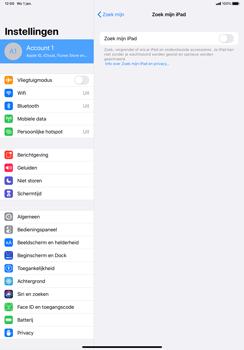 Apple iPad Pro 11 inch 2nd generation (2020) (Model A2230) - Beveiliging en ouderlijk toezicht - Zoek mijn iPad inschakelen - Stap 9