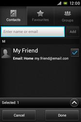 Sony C1505 Xperia E - E-mail - Sending emails - Step 7