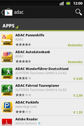 Sony Xperia Go - Apps - Herunterladen - 18 / 22