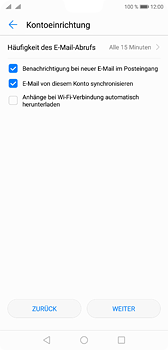 Huawei P20 - E-Mail - Konto einrichten (yahoo) - 7 / 10
