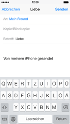 Apple iPhone 5 - E-Mail - E-Mail versenden - 7 / 16