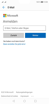 Huawei P20 - E-Mail - Konto einrichten (outlook) - 7 / 12