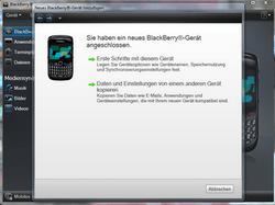 BlackBerry Bold Touch - Software - Sicherungskopie Ihrer Daten erstellen - 1 / 1