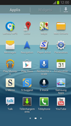 Samsung Galaxy S III LTE - Réseau - Sélection manuelle du réseau - Étape 3