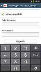 Samsung I9295 Galaxy S IV Active - e-mail - handmatig instellen - stap 14