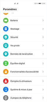Huawei P40 - Sécuriser votre mobile - Personnaliser le code PIN de votre carte SIM - Étape 3