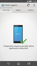 Sony Xperia Z2 - Software - Installazione degli aggiornamenti software - Fase 7