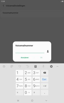 Samsung galaxy-tab-a-8-0-lte-2019-sm-t295 - Voicemail - Handmatig instellen - Stap 10