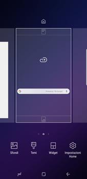 Samsung Galaxy S9 Plus - Operazioni iniziali - Installazione di widget e applicazioni nella schermata iniziale - Fase 3