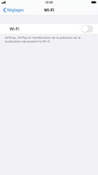 Apple iPhone 7 Plus - iOS 13 - WiFi - Configuration du WiFi - Étape 4