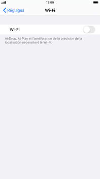 Apple iPhone 6s Plus - iOS 13 - Wifi - configuration manuelle - Étape 3