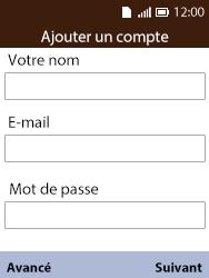 Alcatel 3088X - E-mails - Ajouter ou modifier votre compte Yahoo - Étape 7