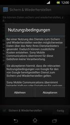 Sony Xperia T - Apps - Einrichten des App Stores - Schritt 16