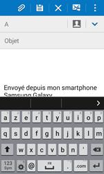 Samsung Galaxy Trend 2 Lite - E-mails - Envoyer un e-mail - Étape 5