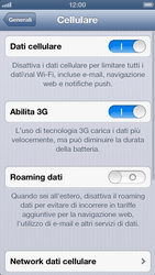 Apple iPhone 5 - Internet e roaming dati - Configurazione manuale - Fase 6