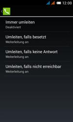 Alcatel Pop C3 - Anrufe - Rufumleitungen setzen und löschen - 10 / 13