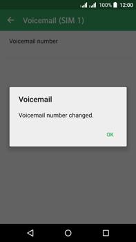 Acer Liquid Z630 - Voicemail - Manual configuration - Step 11
