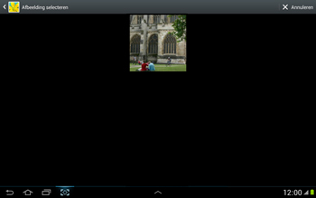 Samsung N8000 Galaxy Note 10-1 - MMS - hoe te versturen - Stap 11
