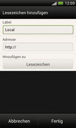 HTC Desire X - Internet und Datenroaming - Verwenden des Internets - Schritt 11