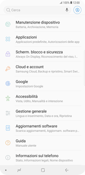 Samsung Galaxy S9 Plus - Software - Installazione degli aggiornamenti software - Fase 5