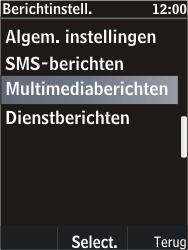 Nokia C2-05 - MMS - probleem met ontvangen - Stap 8