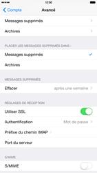 Apple iPhone 6 Plus - E-mail - Configuration manuelle - Étape 25