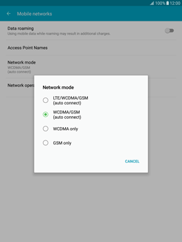 Samsung T815 Galaxy Tab S2 9.7 - Network - Enable 4G/LTE - Step 6