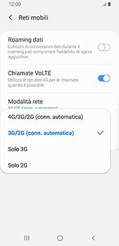 Samsung Galaxy S9 - Android Pie - Rete - Come attivare la connessione di rete 4G - Fase 7
