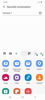 Samsung Galaxy S20 - Contact, Appels, SMS/MMS - Envoyer un MMS - Étape 10